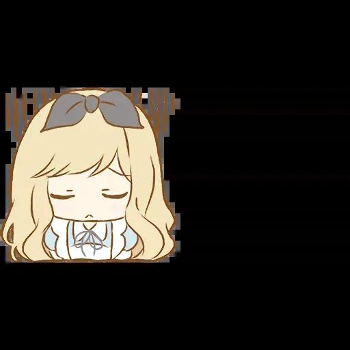 Alice Emoji - Sticker 16