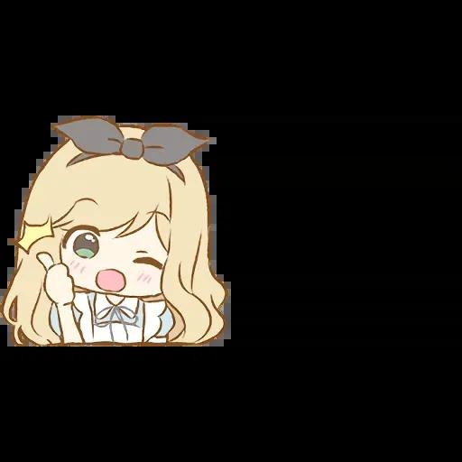 Alice Emoji - Sticker 24