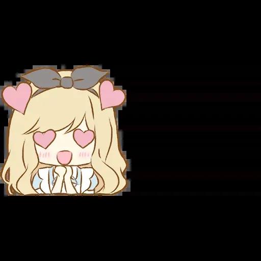 Alice Emoji - Sticker 6