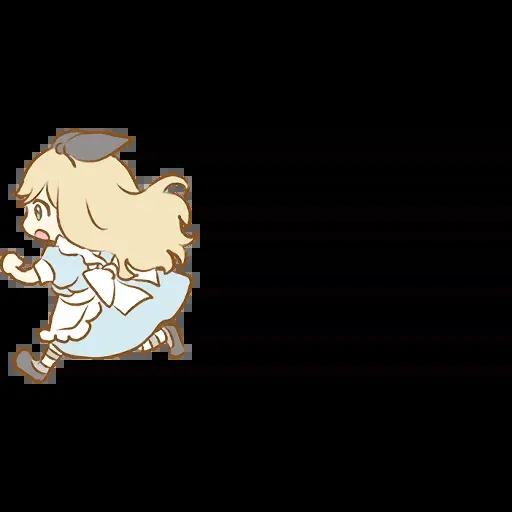 Alice Emoji - Sticker 22