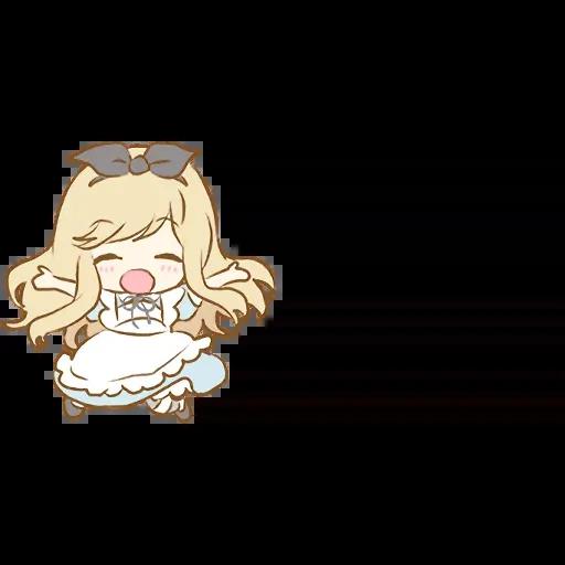 Alice Emoji - Sticker 26