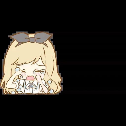Alice Emoji - Sticker 11