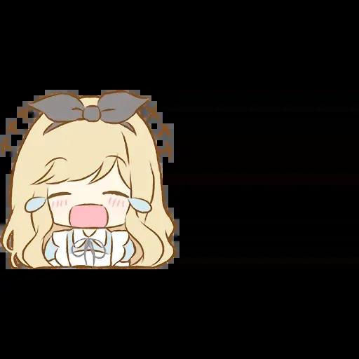 Alice Emoji - Sticker 10