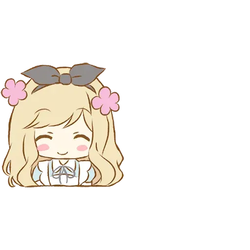 Alice Emoji - Sticker 4