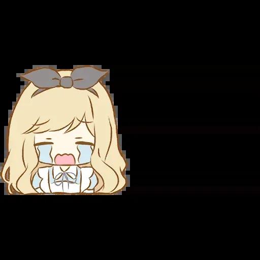 Alice Emoji - Sticker 8