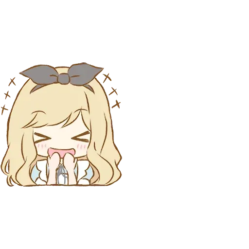 Alice Emoji - Sticker 3