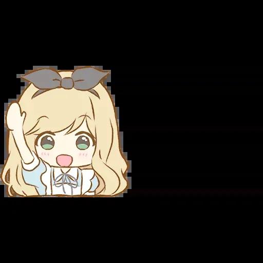 Alice Emoji - Sticker 25