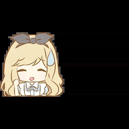 Alice Emoji - Sticker 12