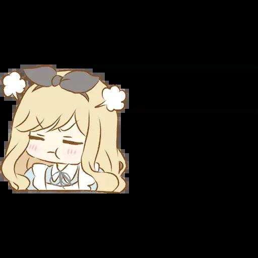 Alice Emoji - Sticker 14