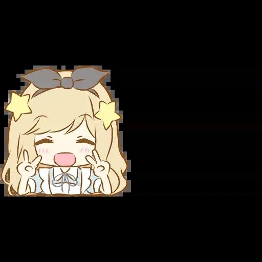 Alice Emoji - Sticker 23
