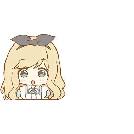 Alice Emoji - Sticker 1