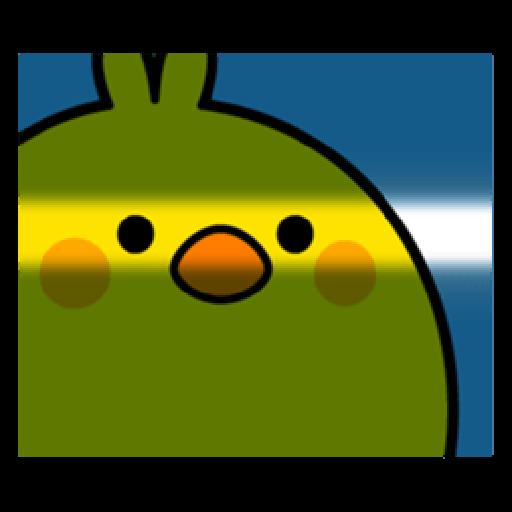 Plump Little Chick 2 - Sticker 4