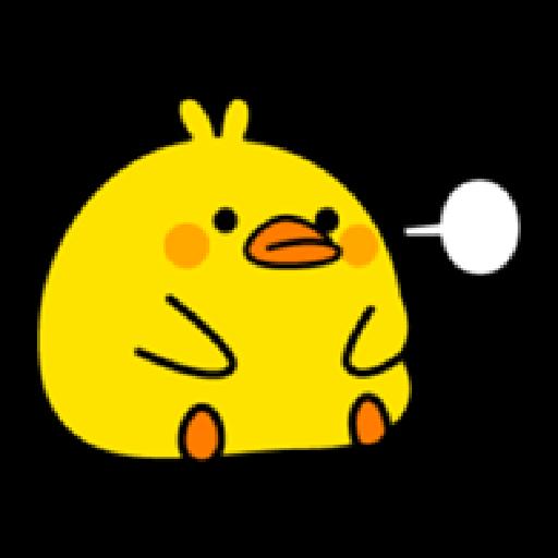 Plump Little Chick 2 - Sticker 1
