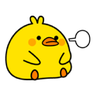 Plump Little Chick 2 - Tray Sticker