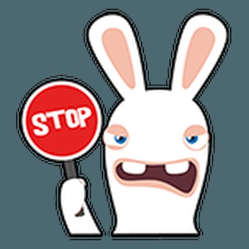Rayman Rabbid - Sticker 25