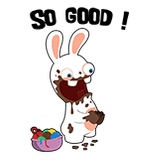 Rayman Rabbid - Sticker 15