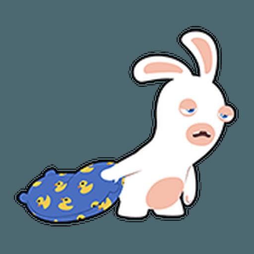 Rayman Rabbid - Sticker 13