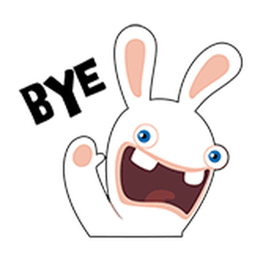 Rayman Rabbid - Sticker 22