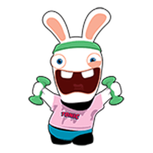 Rayman Rabbid - Sticker 17