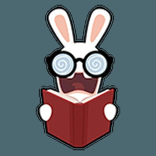 Rayman Rabbid - Sticker 2