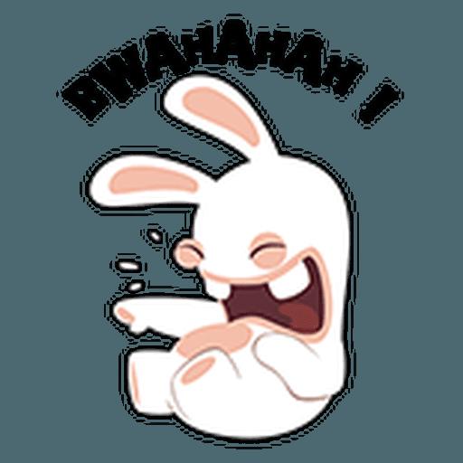 Rayman Rabbid - Sticker 14