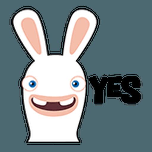 Rayman Rabbid - Sticker 7