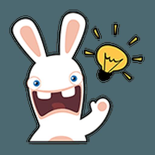Rayman Rabbid - Sticker 20