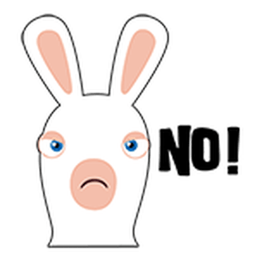 Rayman Rabbid - Sticker 23