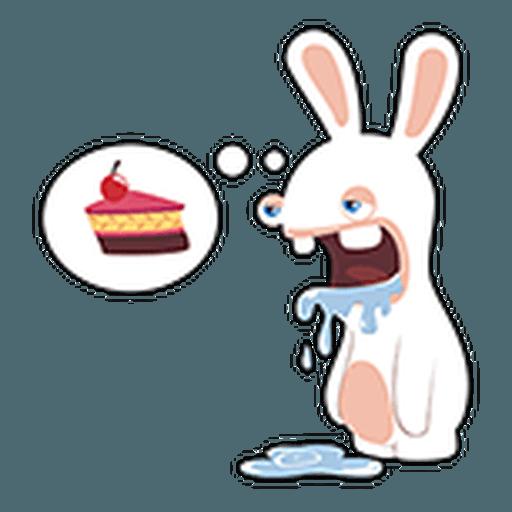 Rayman Rabbid - Sticker 1