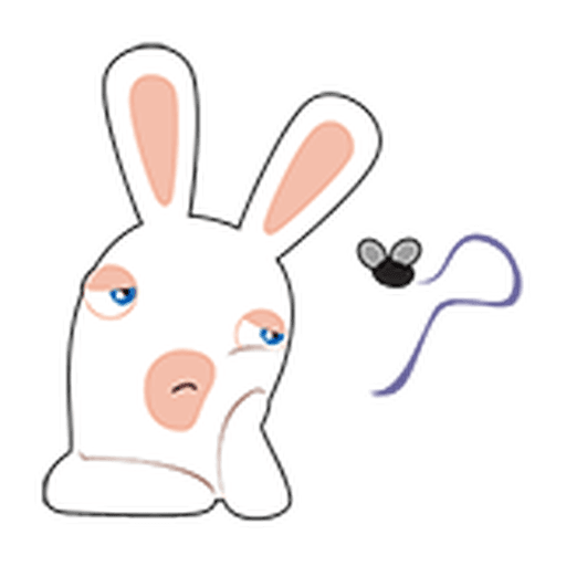 Rayman Rabbid - Sticker 10