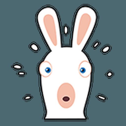 Rayman Rabbid - Sticker 28