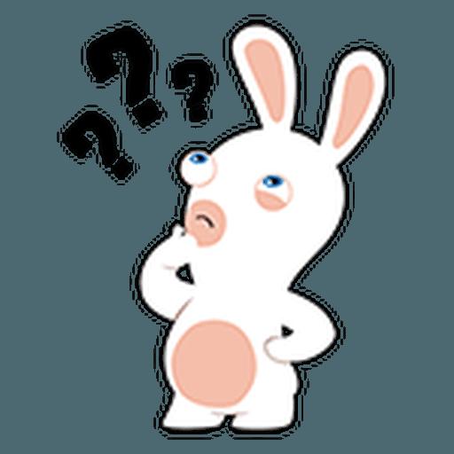 Rayman Rabbid - Sticker 27