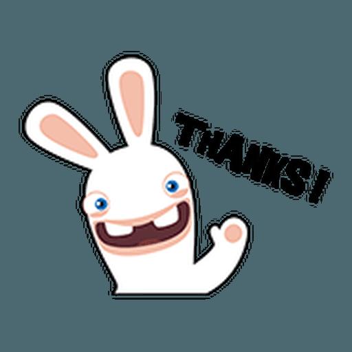Rayman Rabbid - Sticker 19
