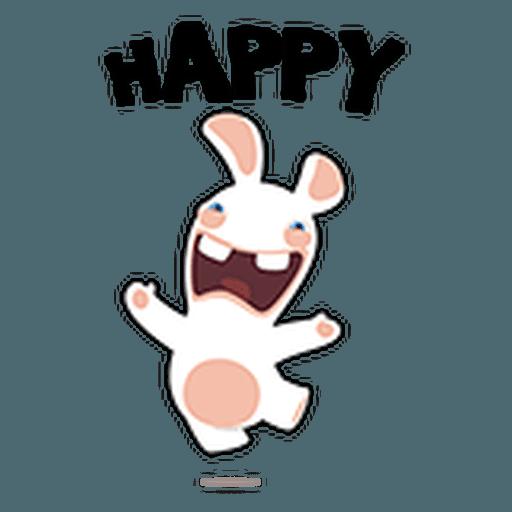 Rayman Rabbid - Sticker 6