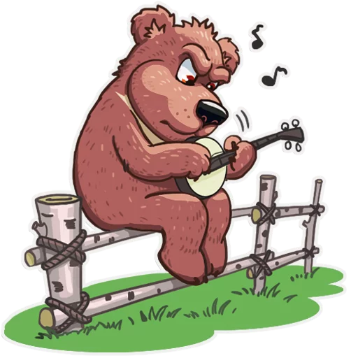 Bear play - Sticker 2