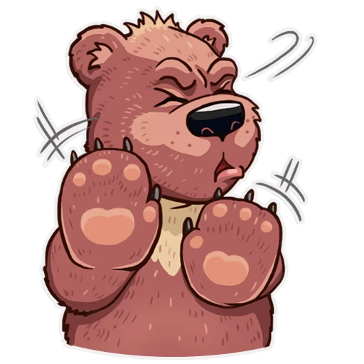 Bear play - Sticker 9
