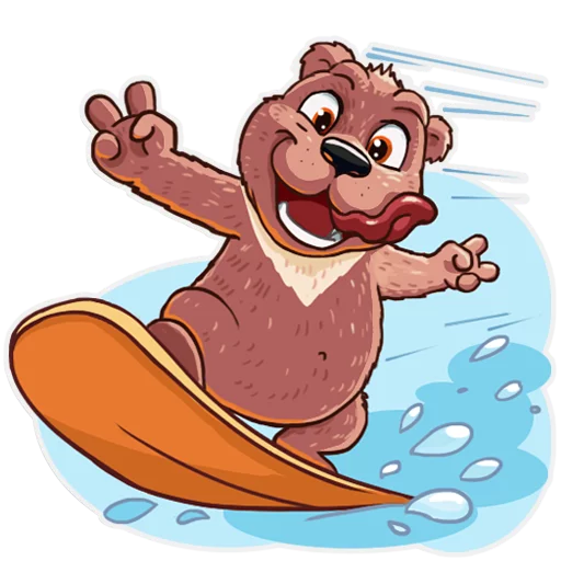 Bear play - Sticker 8