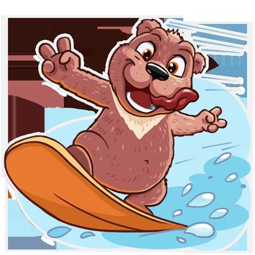 Bear play - Sticker 8