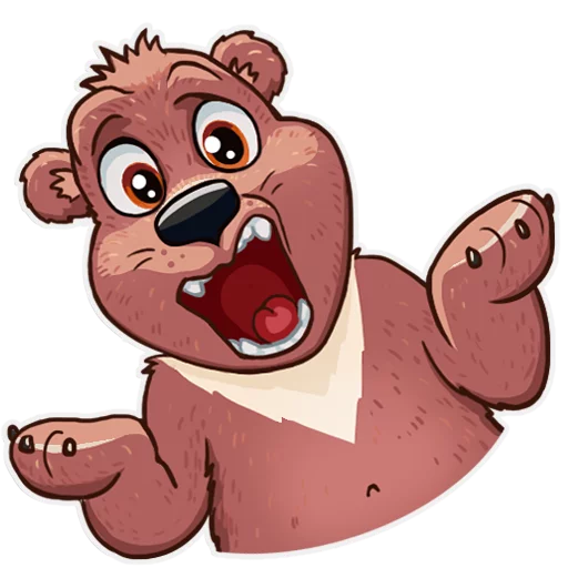 Bear play - Sticker 5