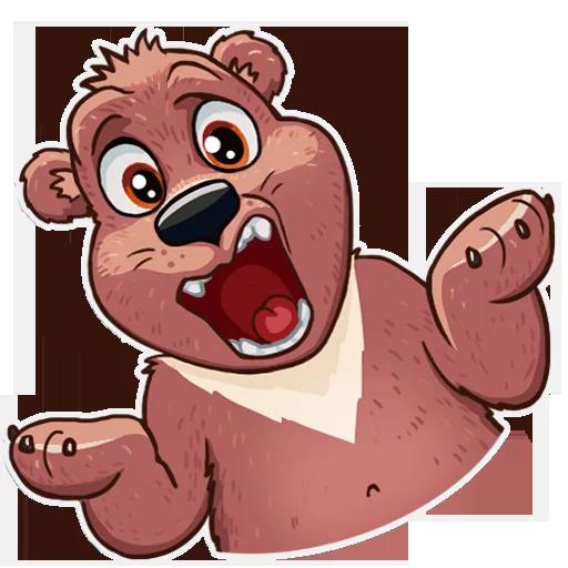 Bear play - Sticker 5