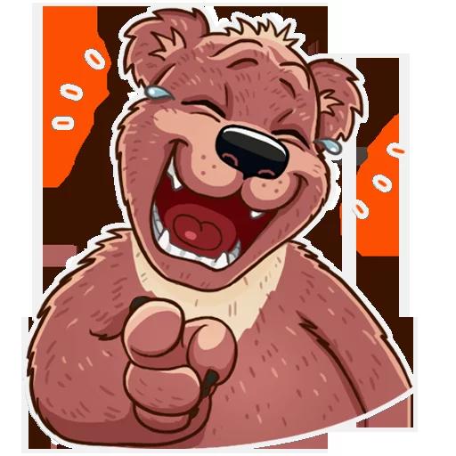 Bear play - Sticker 12