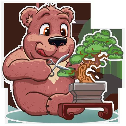 Bear play - Sticker 1