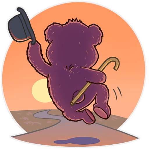 Bear play - Sticker 17