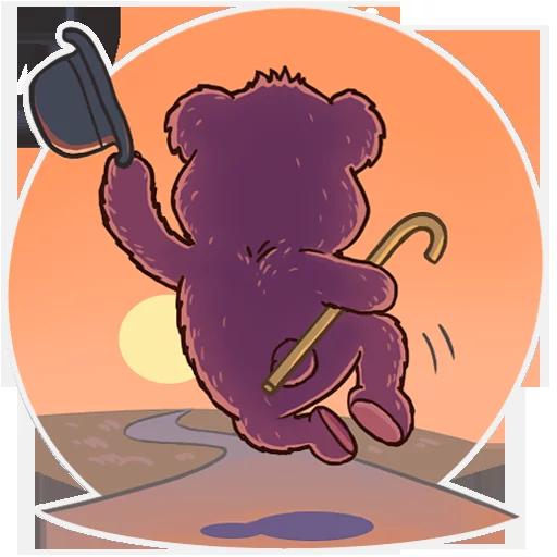 Bear play - Sticker 17
