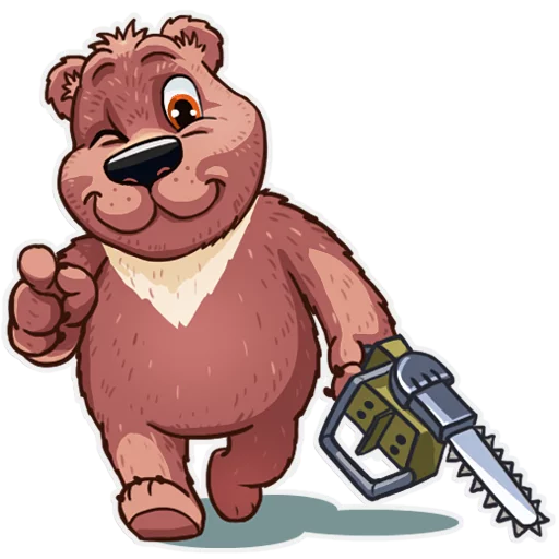 Bear play - Sticker 6