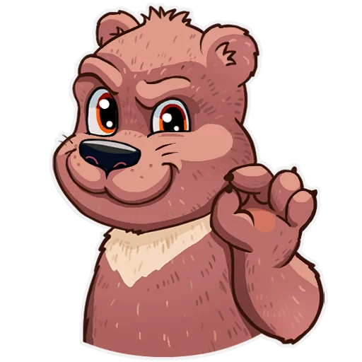 Bear play - Sticker 16