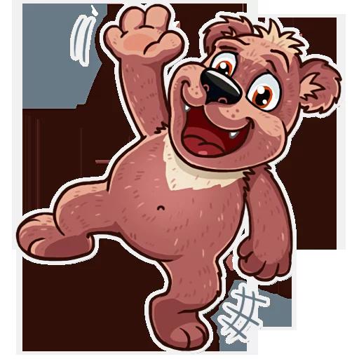 Bear play - Sticker 15