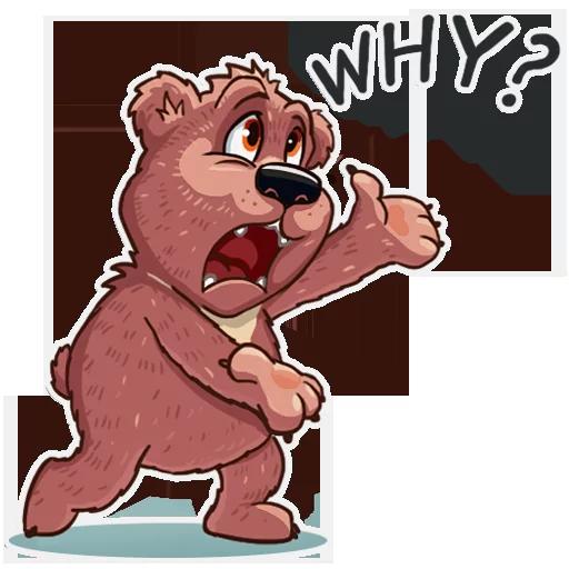Bear play - Sticker 11