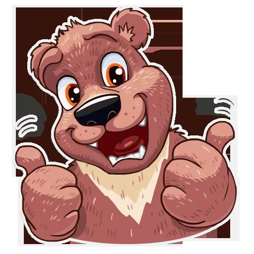 Bear play - Sticker 14