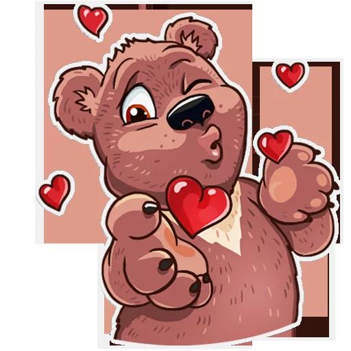 Bear play - Sticker 13